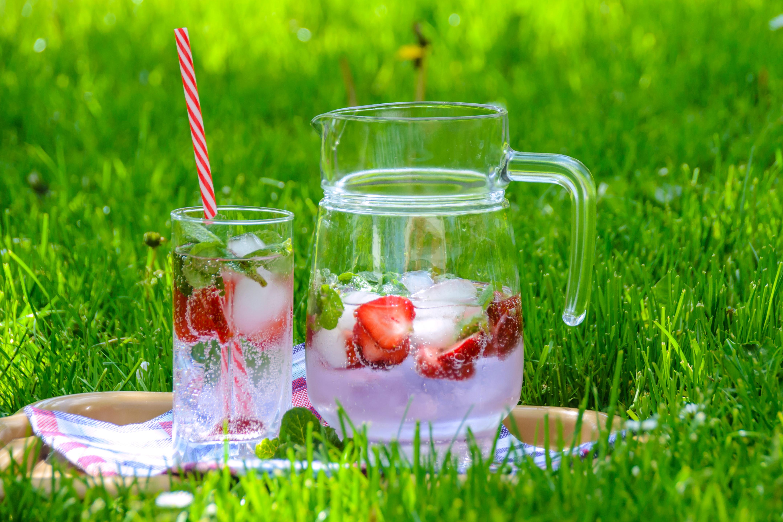 koud drinken met fruit